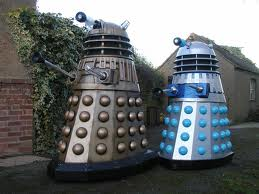 We will exterminate, after we've found the nearest public toilet