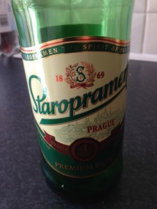 The Czech beer from Sainsbury's