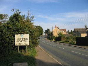 Do you know the scary corner between Charlbury and Chipping Norton?