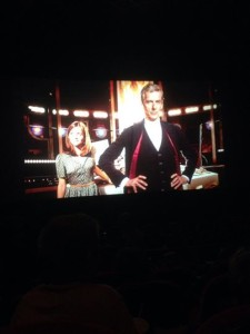 Last night's Dr Who event