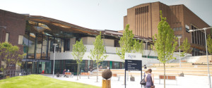 This is what Exeter University campus looks like now