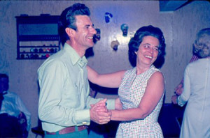 This is what nostalgia makes me think of: parents dancing