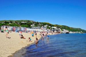 This is Aberdovey should look like in the sunshine
