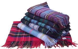 If I were to convalesce, I'd need a choice of tartan blanket