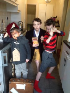 My children love World Book Day for the chance to dress up