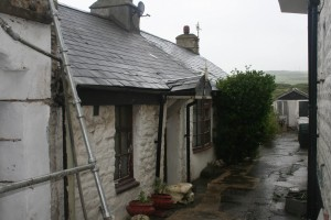 The cottage where we stayed, as it looks now