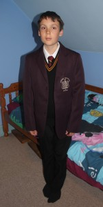 My fresh Year 7 boy