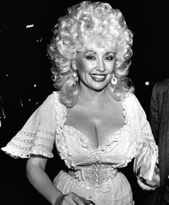 Did Dolly Parton dangle loose in the 1970s? I doubt it.