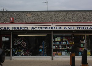 A typical Oakengates retail outlet