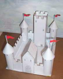 This isn't one of the other castles but resembles very closely one of them
