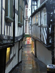 My favourite street in Shrewsbury